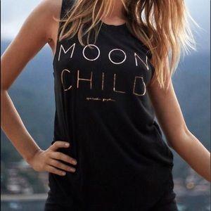 Spiritual Gangster Moon Child Muscle Tank